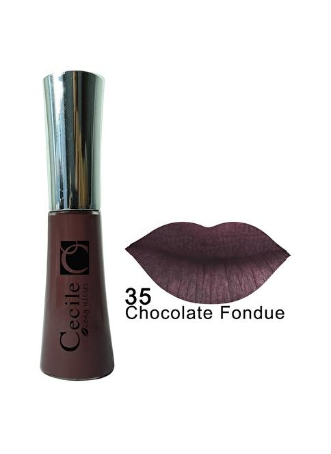 Cecile Long Kisses Lipgloss  35 Kahve